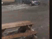 Manhattan Beach Okoboji Iowa flood on Sunday June 24th 2018