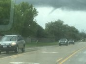Funnel cloud  in North of Altoona