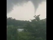 Mount pleasant tornado touching down brinker road