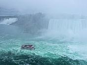 Hornblower entering the Falls