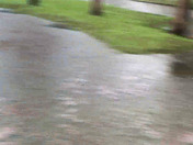 This was w Howry Ave in Deland outside our home during the heavy rain.