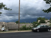 Photo taken from my apartment in Overland Park, KS on June 26, 2018 at 12:41 p.m.