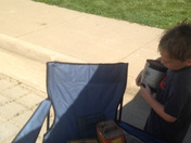 American Pickers Kid Pickers Flea Market in Leclaire Iowa.