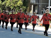 Royal Canadian Mounted Police in the May Day Parade ~ Port Coquitlam, BC 2018