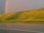 I 80 East Bound from Lincoln 8:48 pm.