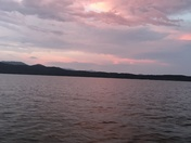 Sunset on Lake Jocassee 6\30\2018