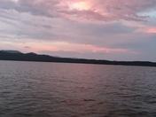 Sunset on Lake Jocassee 6\30\2018