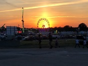 Sunset at the Brockton fair