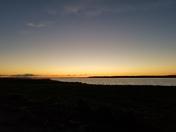 Sunset at Rathbun Lake