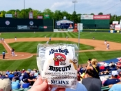 Baseball, Biscuits and Balmy