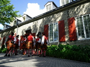 Scottish Guards at Chateau Ramezay.