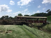 Saylor Creek flood damage.