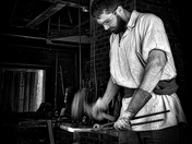 Forging Steel - B&W