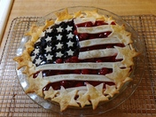 Jill Reil from Papillion Ne. I love to bake pies, so attaches is my 2018 Patriot Pie.