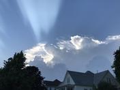 Fourth of July thunder head