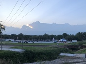 Storms looking from Louisville,NE