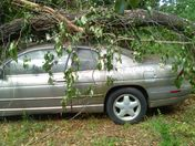 David and Faye Holcombe's car in Powdersville SC