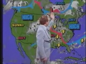 WCVB Newscentrr 5 Midday - June 1986 - Bill Hovey's weather forecast