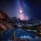 Stars over Moraine Lake