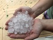 Summer Hail In Loudon
