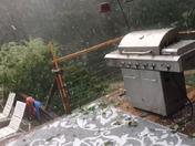 Nasty hail!