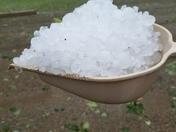 Hailstorm in Canterbury