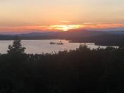 Melvin Bay Sunset