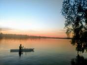 Sunset Lake Opechee