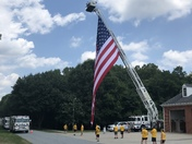 Carolina Brotherhood 2018 Ride for fallen firefighters and police officers