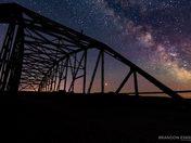 Steel Bridge Milky Way