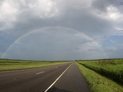 Rainbow this Morning7/13 on my way to Thibodaux.