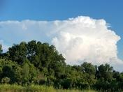 Clouds fom Clinton