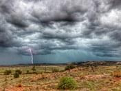 Lightning over Quemado