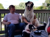 According to my dog Ivy, my husband Bill is hilarious! :-)