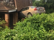 Car went thru house next to my pizza shop veltres Braddock Hills