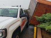 Storm this morning at bricktown uhaul