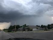 Storm moving into Yukon
