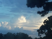Beautiful evening in Shawnee,OK