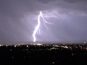 Lightning over Santa Fe 9:30pm