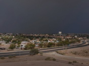 AERIAL DRONE VIEW OF SATURDAYS SEVERE STORM