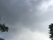 Here comes the rain in Mt. Airy from Alicia Meador