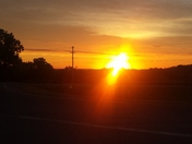 Bussey Iowa Sunrise