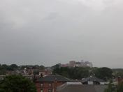 Lightning Strikes over Maine Med