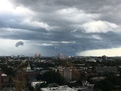 View from Cambridge of Storm at 1:45 pm today.