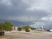 Storm moving in.