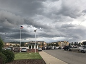 This was taken at 2:45 at Fayetteville near Baum Stadium.