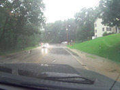 This footage is from driving on route 3A in Hooksett in to Manchester during todays thunderstorm