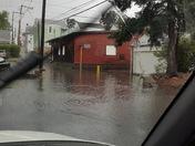 Flooded intersection Lebanon