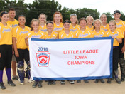 Johnston Girls Softball wins the Little League State tournament going 6-0