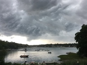 Black clouds over the Mill River
